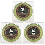 Col. Conk World's Famous Shaving Soap, Lime -- 3 Pack -- Each piece Net Weight 2.25 Oz