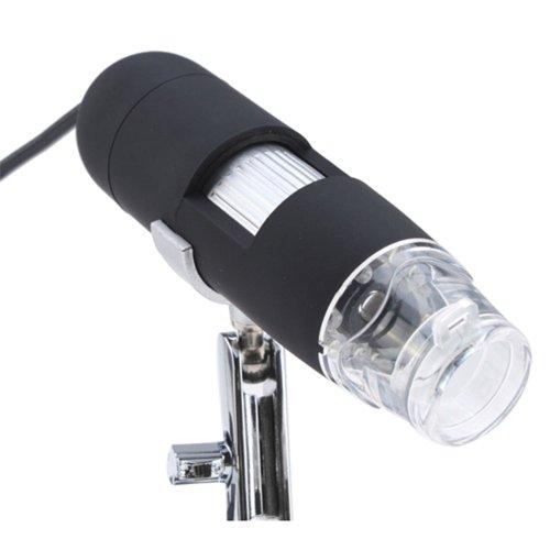 Tabstore 2Mp 8-Led Usb Digital Microscope Endoscope Magnifier 2.0 Mega Pixels 40X~800X For Education Industrial Biological
