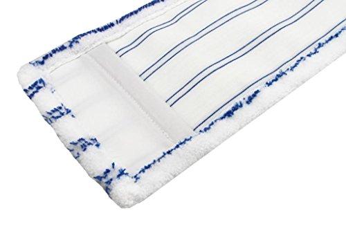 zwei microfaser m ppe 40cm mit blauen scheuerstreifen. Black Bedroom Furniture Sets. Home Design Ideas