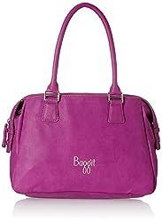 Baggit L Edge Outer Women's Handbag (Lavender)