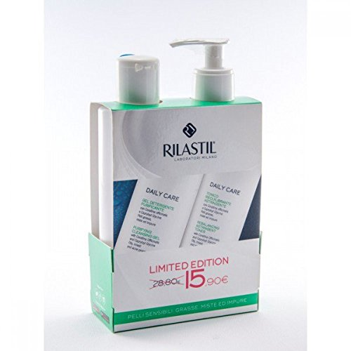 Rilastil Daily Care Gel Purificante +Tonico Riequilibrante