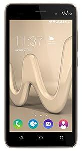 Wiko Lenny3 Smartphone débloqué H+ (Ecran: 5 pouces - 16 Go - Double SIM-Micro - Android) Or