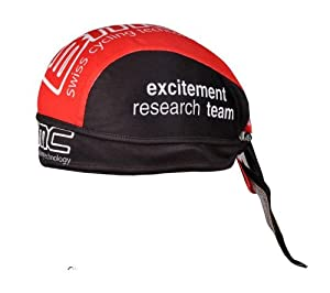 New Cycling Pirates Headband Team BMC Red-black Sweatproof Riding Hat