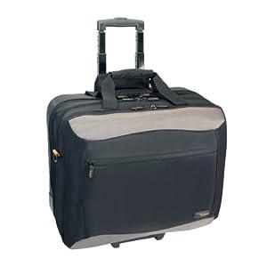 Targus TCG717 17-Inch CityGear Rolling Travel Laptop Case (Black)