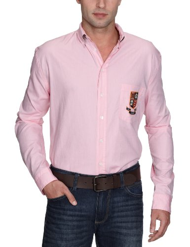 Gant Men's 392014 Casual Shirt Pink (Pastel Pink) 50