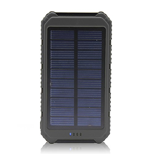 Solar Charger, Matone® Portable 10000mAh Solar Battery Charger Rain ...