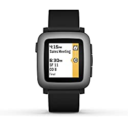 Pebble Time Smartwatch for Smartphone - Black