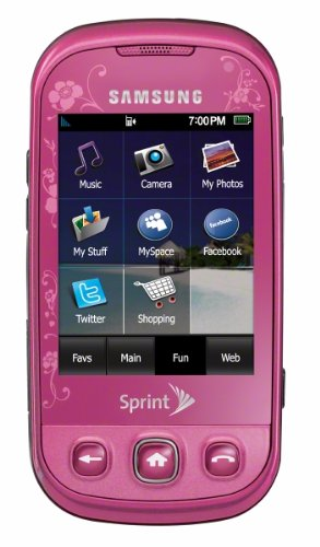 Samsung Seek M350 Phone, Pink (Sprint)