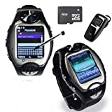 MW09 Watch Cell Phone ~ unlocked~ Quad-band + Free 4GB card+Free Bluetooth headset Reviews