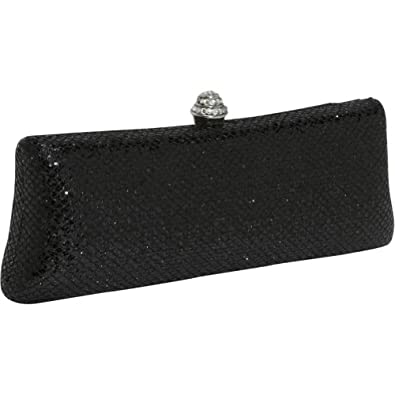 J. Furmani HardCase Shiny Clutch (Black)
