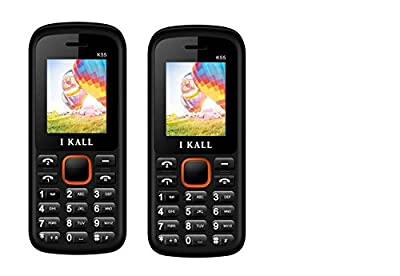 I Kall K55 set of 2 Dual Sim Mobiles (Orange & Orange)