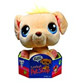 Hasbro Year 2005 Littlest Pet Shop 7 Inch Tall Bobble Head Pets Plush Toy Figure Golden Retriever Puppy Dog (51424)