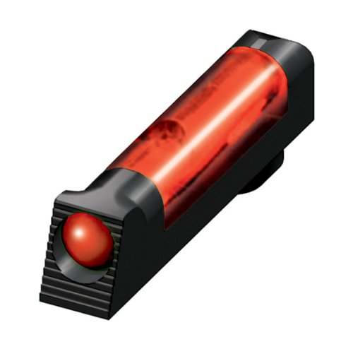 HiViz Glock Overmolded Fiber Optic Tactical Front Sight (Red)