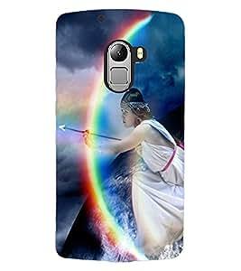 ColourCraft Printed Design Back Case Cover for LENOVO A7010