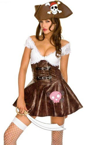 Bellus Women's Pirate Halloween Costume Size Small (Small)