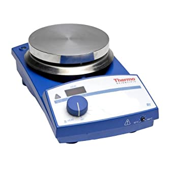 "Thermo Scientific SP87325 Safe-T SH9 Analog Explosion-Proof Stirring Hot Plate with 9.1"" x 9.1"" Aluminum Heating Plate, 120V"