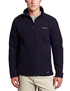 Columbia Men's Thermarator II Jacket, Ebony Blue/Heather, X-Large