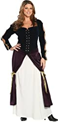 Plus Size Lady Musketeer Costume