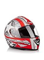 Römer Casco de Moto Star Integral (Rojo / Plata)