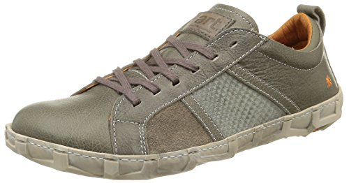 art-unisex-adults-melbourne-low-top-sneakers-grey-size-10-uk