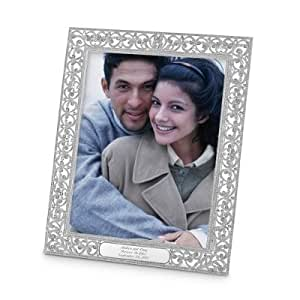 ... 8x10 Personalized Wedding Picture Frame: Amazon.co.uk: Kitchen & Home