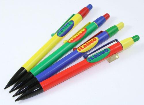 ☆貴重!コーリン鉛筆製/COLLEEN!イタリコ!italico Mecha Pencil金属軸!0.5mm芯!グリーン(緑)軸☆