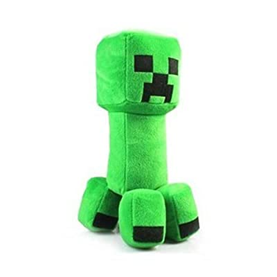 11 Minecraft Creeper Character Plush Soft Toy Stuffed Animal Doll Green Monster from MC