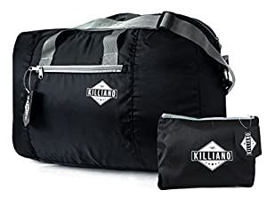 Killiano Foldable Travel Duffel Bag - Premium Quality Lightweight Carry On