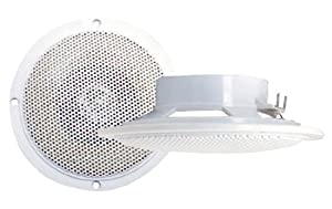 Pyramid MDC5 100 Watts 4-Inch Waterproof Flush mount 2 Way Marine Speaker System from Sound Around