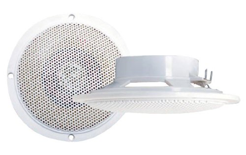 Pyramid Mdc5 100 Watts 4-Inch Waterproof Flush Mount 2 Way Marine Speaker System