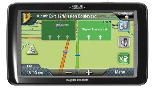 Magellan RoadMate 9055 7-Inch Bluetooth Portable GPS Navigator with Lifetime Traffic