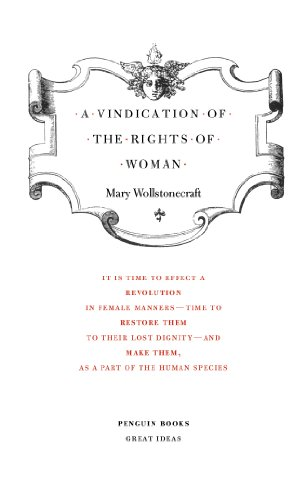 A Vindication of the Rights of Woman (Penguin Great Ideas)