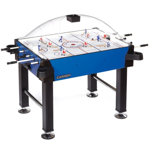 Carrom-43500-Signature-Stick-Hockey-Table-with-Legs-Blue