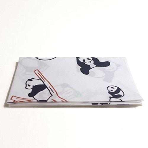 [Edo-Japan Traditional Crafts] High-Quality Made in Japan Chusen Tenugui (Facecloth) Panda