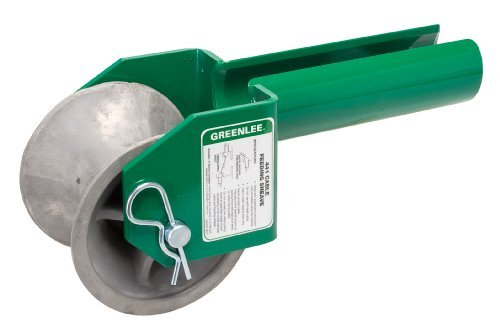 Greenlee 441-3 Feeding Sheave for 3-Inch Conduit by Greenlee (3 Inch Split Conduit compare prices)