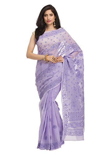 ADA-Lucknow-Chikankari-Hand-Embroidered-Designer-Ethnic-Cotton-Saree-With-Blouse-A116022