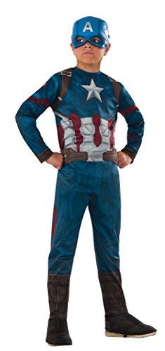 Rubie's Costume Captain America, Bambino, Classic taglia M