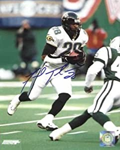 Fred Taylor signed Jacksonville Jaguars 8x10 Photo by Athlon Sports Collectibles