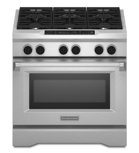 Kitchenaid KDRS467VSS Commercial-Style Dual Fuel Range