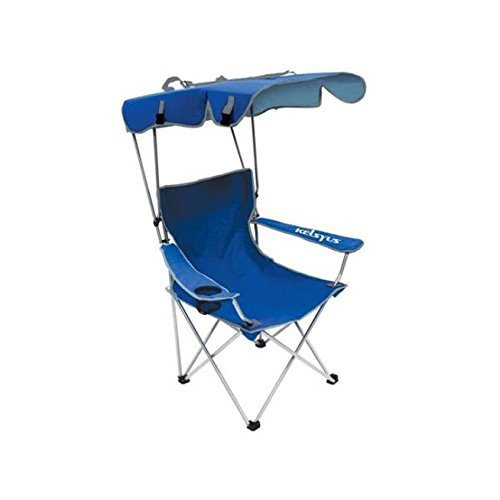 Oversize Folding Camping Chairs Heavy Duty With Canopy, Sun Shade, UV Protection, Cup Drink Holder, Portable Ergonomic Fishing Patio Backyard Beach Picnic Lawn Rest Sport Event Light Aluminum Directors Breathable Comfort Seat (Sun Shade Holder compare prices)