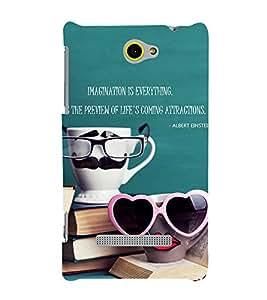 EPICCASE cup of love Mobile Back Case Cover For HTC Windows Phone 8S (Designer Case)
