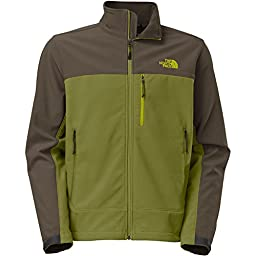 The North Face Apex Bionic Softshell Jacket - Men\'s Grip Green/Black Ink Green, L