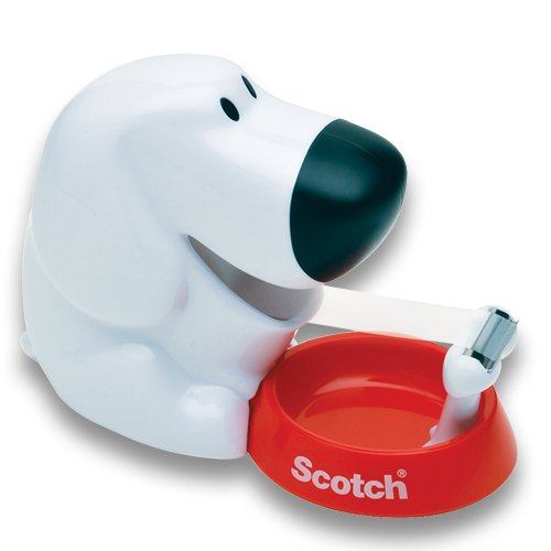 Scotch Dog Tape Dispenser with Magic Tape (C31-DOG)