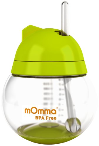 lansinoh-tazza-con-cannuccia-della-linea-momma-250-ml-colore-verde