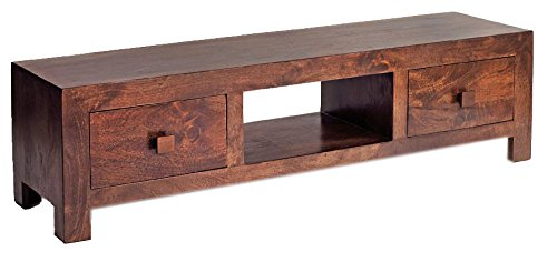Indian Hub Plasma TV Unit (Brown)