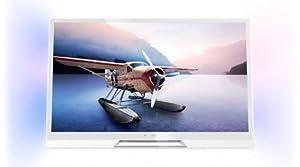 Philips 42PDL6907K/12 107 cm (42 Zoll) Ambilight 3D LED-Backlight-Fernseher (Full-HD, 600Hz PMR, DVB-C/T/S, CI+, Smart TV Premium, WiFi) weiß