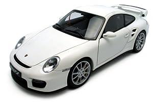 1 18 autoart porsche 911 gt2 2007 white toys games. Black Bedroom Furniture Sets. Home Design Ideas