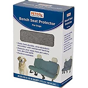 petco bench poncho seat cover automotive pet seat covers pet supplies. Black Bedroom Furniture Sets. Home Design Ideas