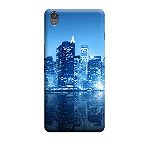 Ebby Premium Printed Mobile Back Case Cover With Full protection For OnePlus X (Designer Case)