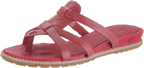 Timberland KENNEBUNK THONG 27661, Sandali donna, Rosso (Rot (Red 0)), 36